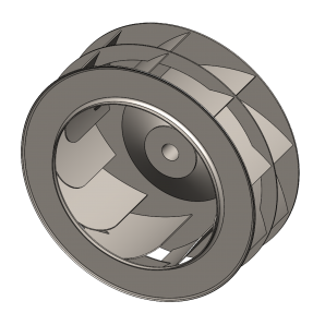 Backward Curved Fan Wheel