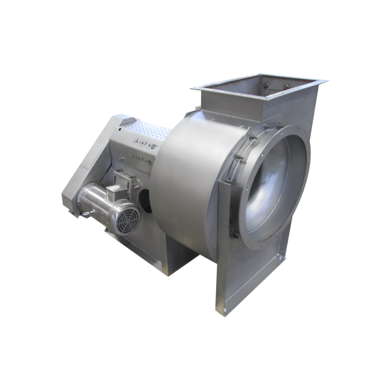 Thermal Processing Food Industry - Backward Inclined Fan