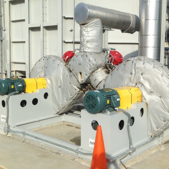 High Pressure Blower Skid for Selective Catalytic Reduction
