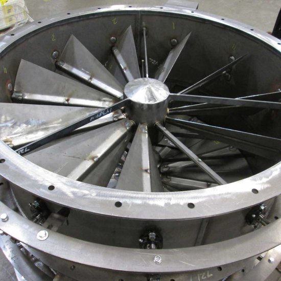 Industrial Fan Blower Accessories | Damper