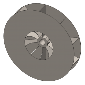 High Pressure Blower & Fan Wheel