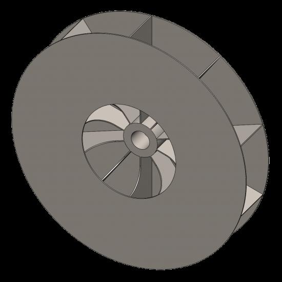 High Pressure Blower & Fan Wheel