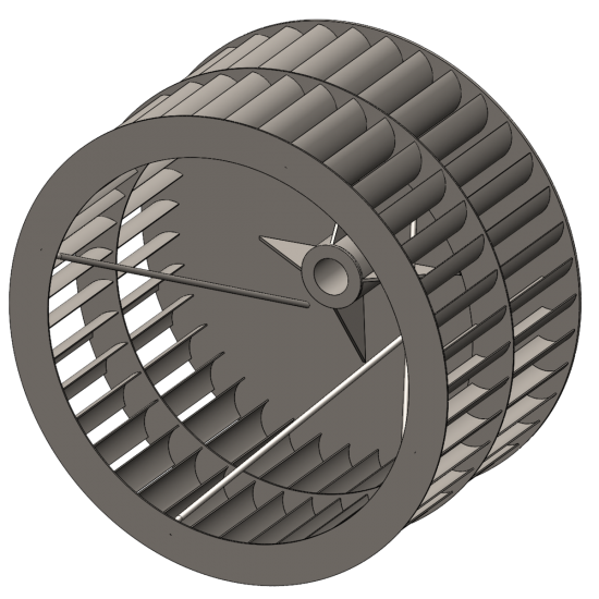 High Temperature Plug Fan