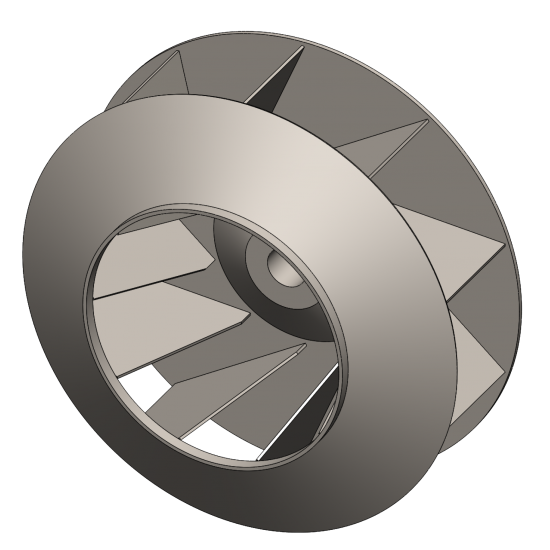 Industrial Exhaust Fan Wheel