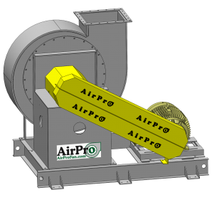 Industrial Exhauster Fan   Radial Shrouded