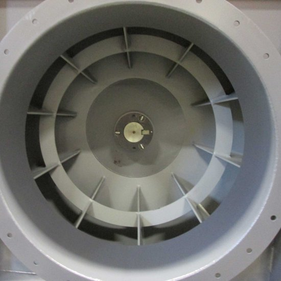 Industrial Exhauster Fan | Radial Shrouded