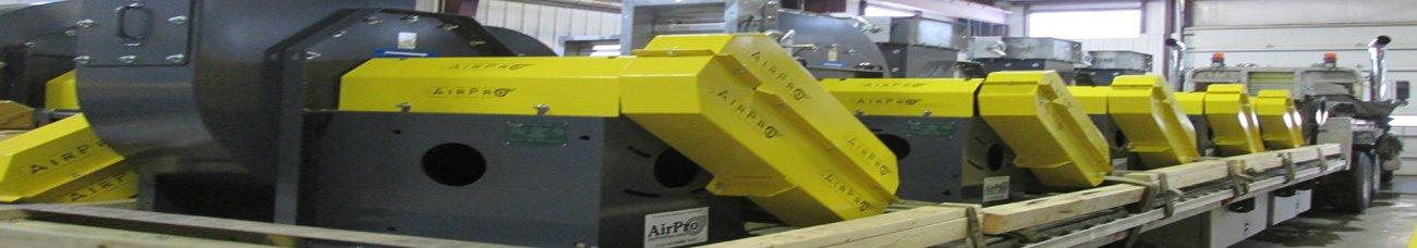 AirPro Industrial Fan Shipment