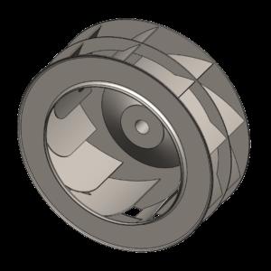 Backward Curved Fan Wheel