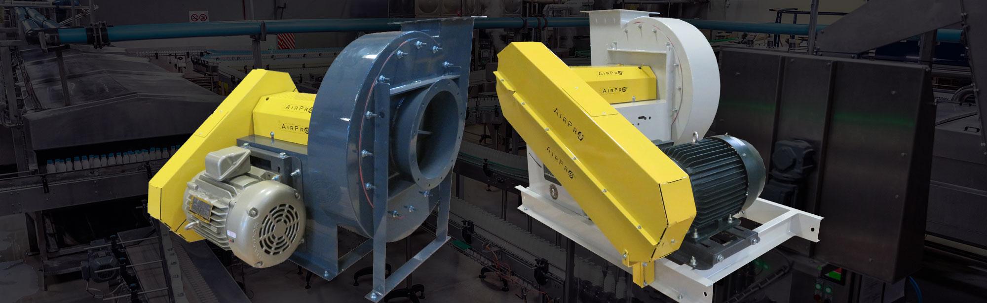 material handling centrifugal fans