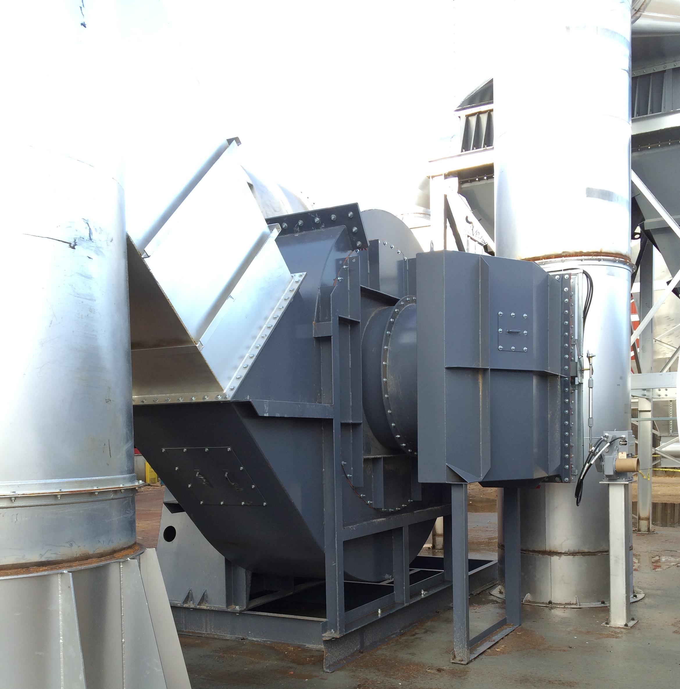 Industrial Exhaust Blower : Industrial exhaust fan radial shrouded airpro blower