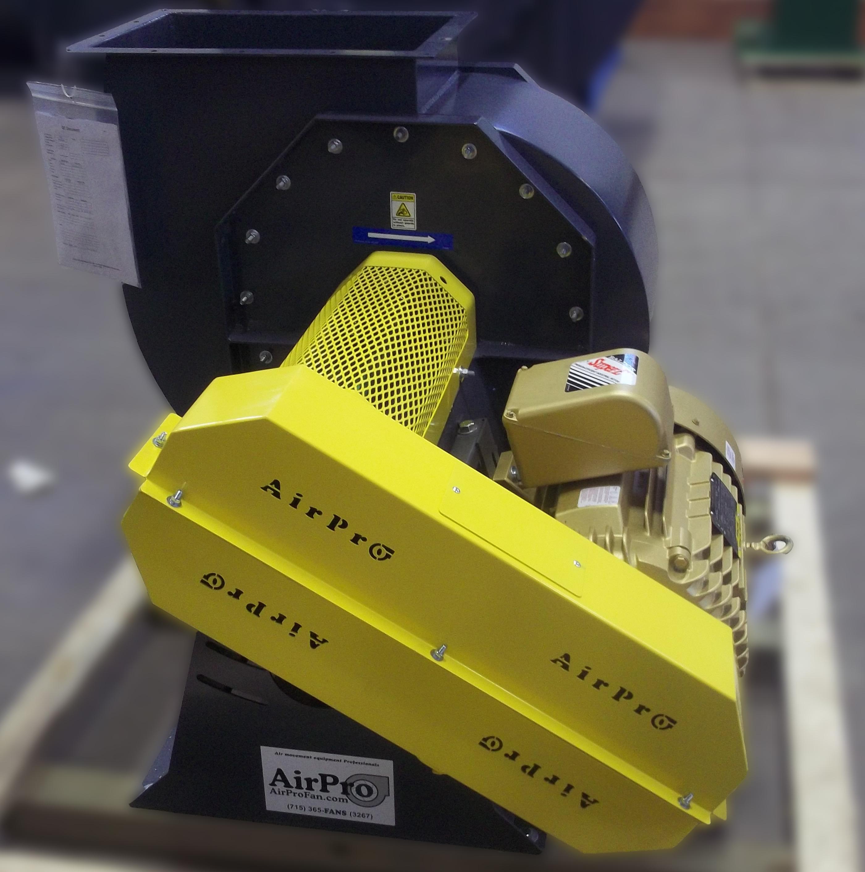 Used Grain Blowers : Backward inclined fan blower airpro co