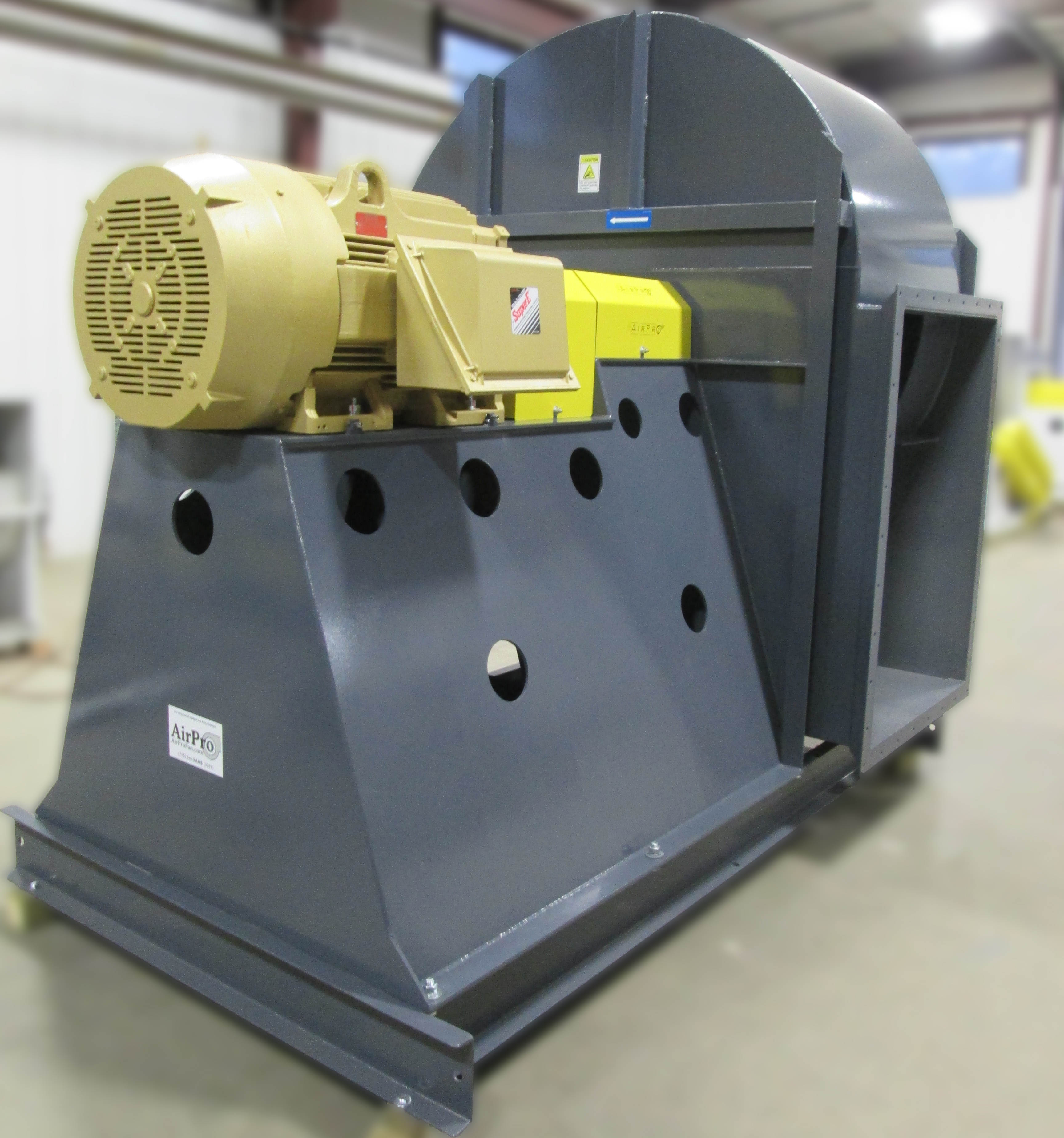 Commercial Air Blowers : Backward inclined fan blower airpro co
