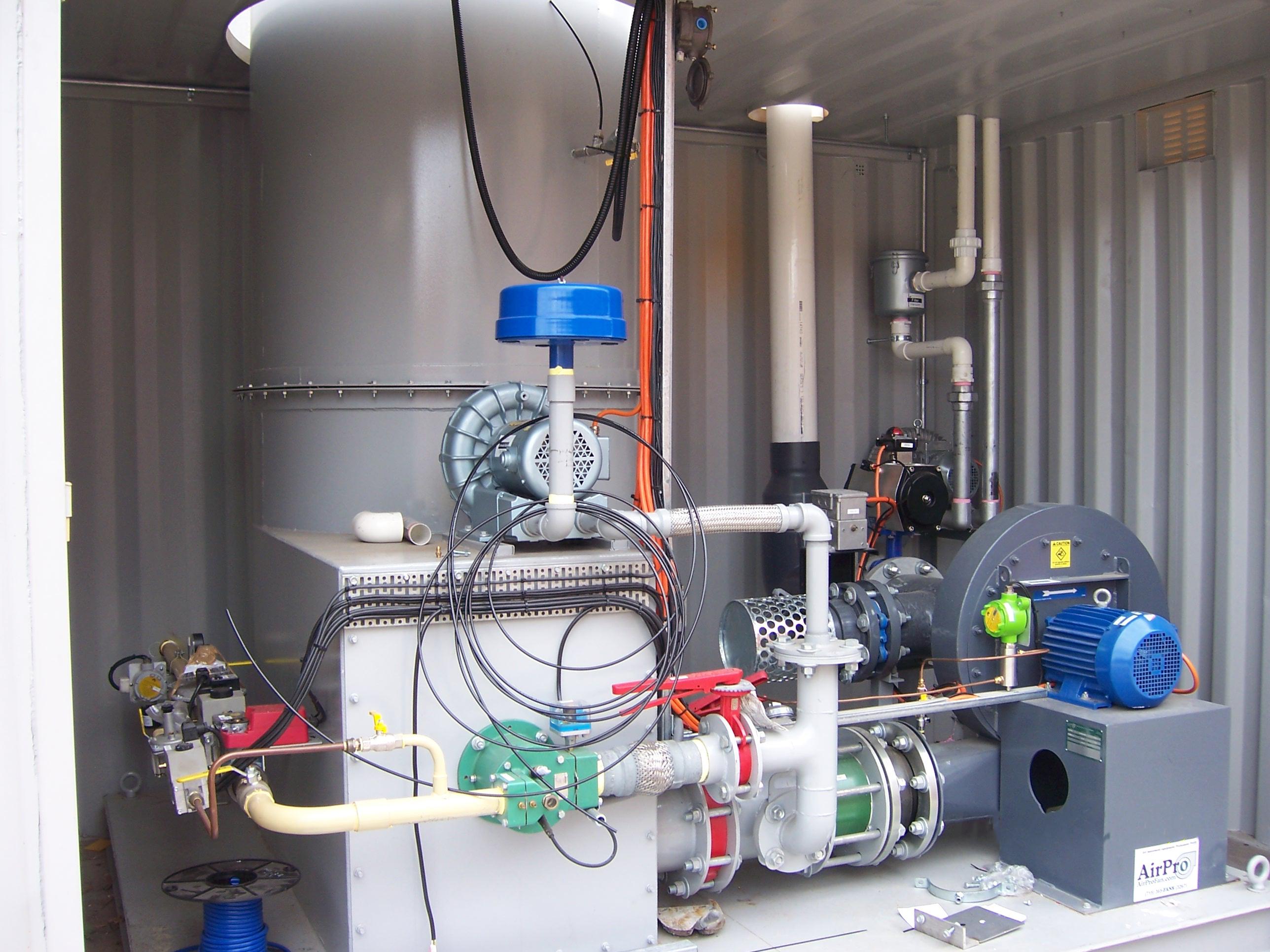 High Pressure Blower Radial Open AirPro Fan & Blower Co. #394969