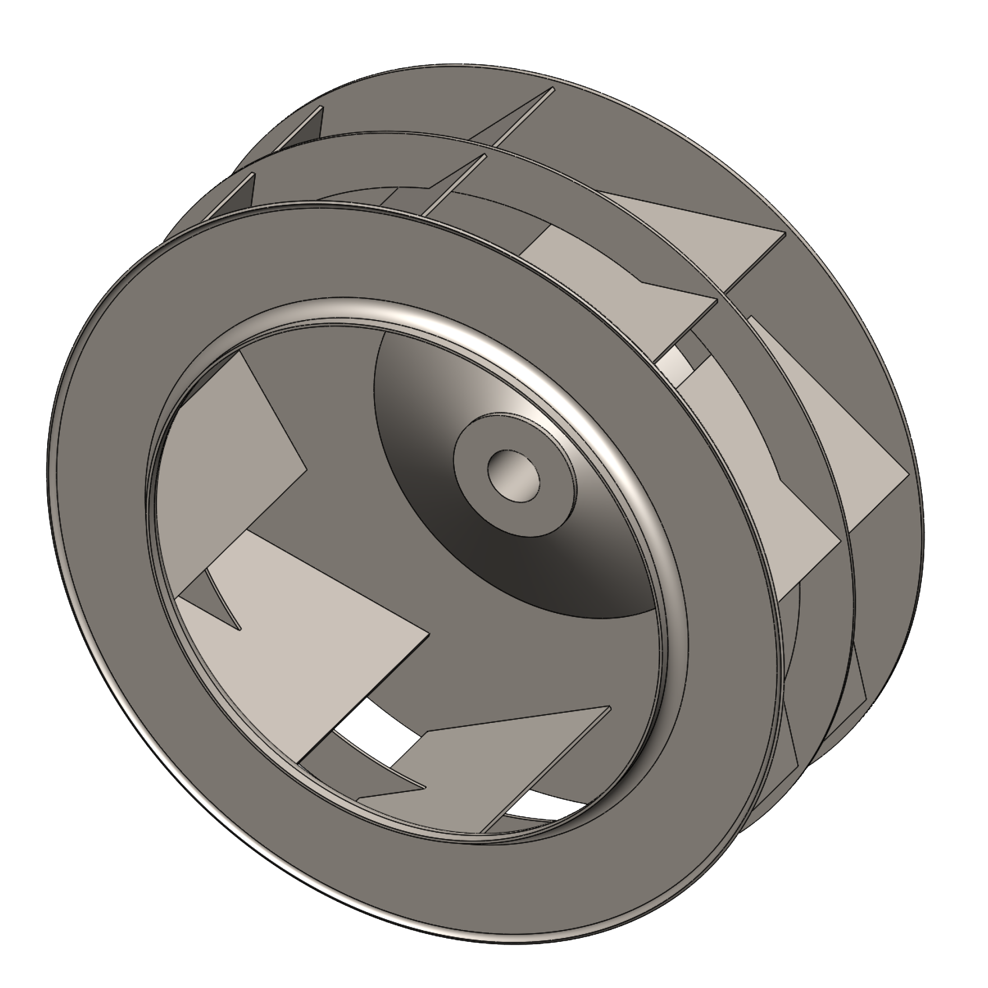 Industrial Blower Wheels : Backward inclined fan blower airpro co