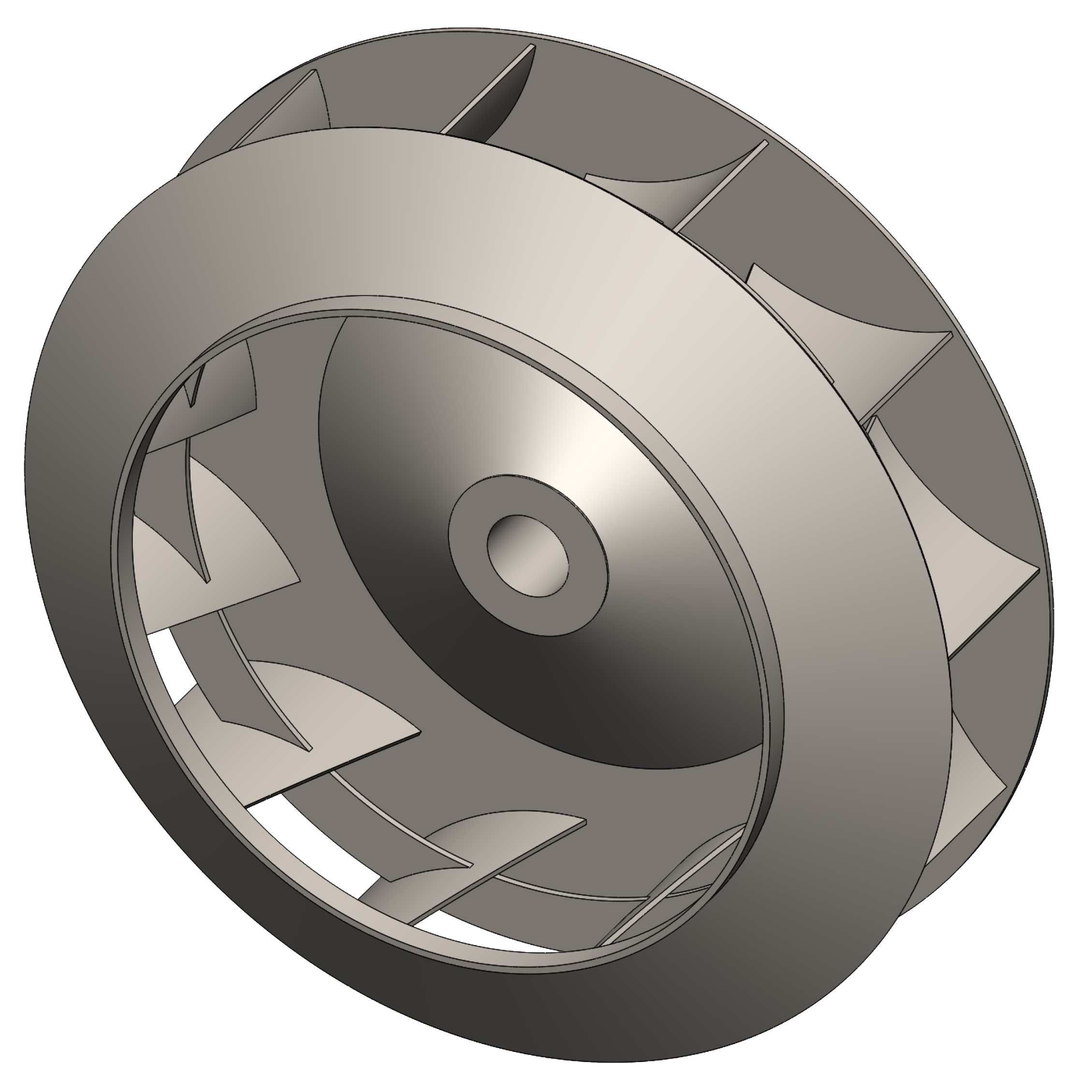 Industrial Blower Wheels : Radial tipped fan airpro blower company
