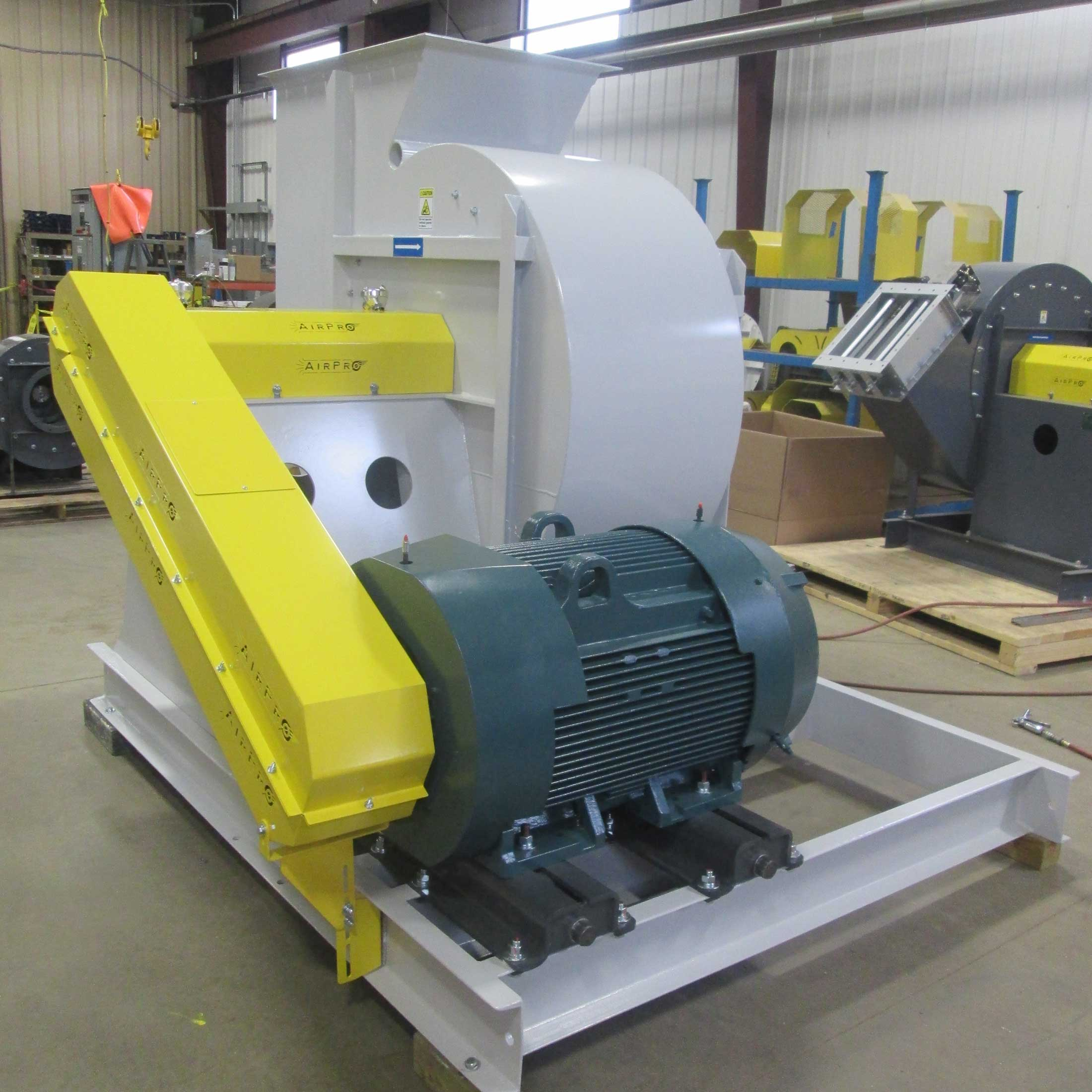 Radial High Pressure Blower : Radial tipped fan airpro blower co