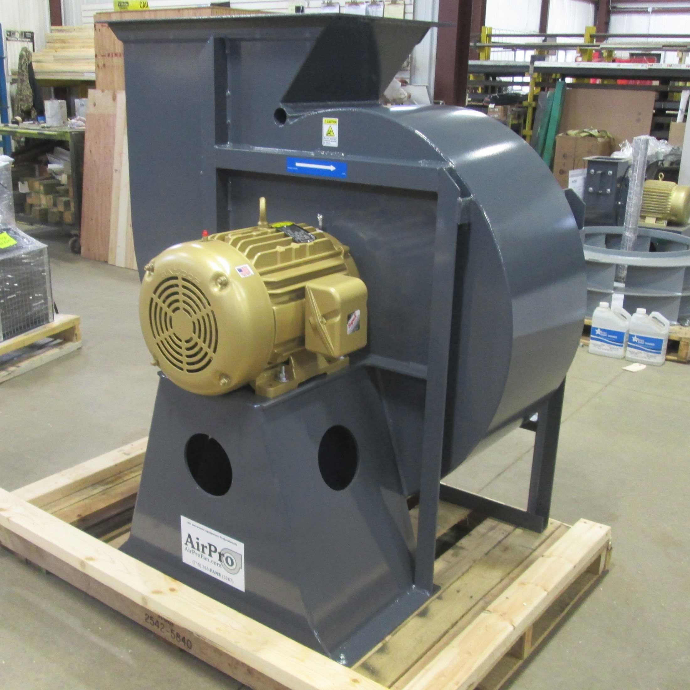 Radial Tipped Fan Airpro Fan Amp Blower Company