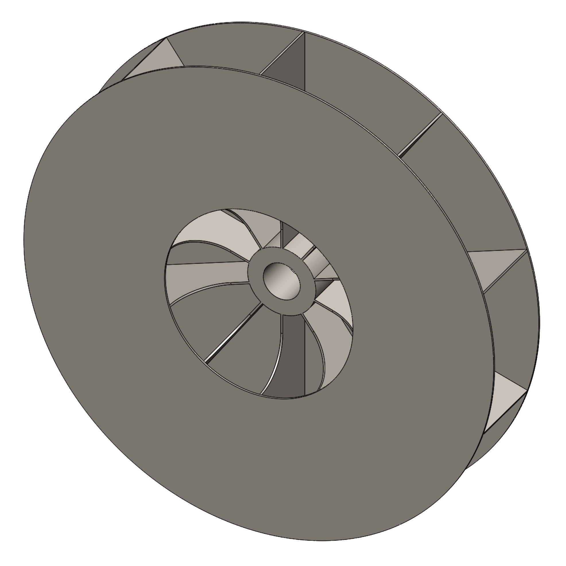 Radial High Pressure Blower : High pressure blower radial shrouded airpro fan