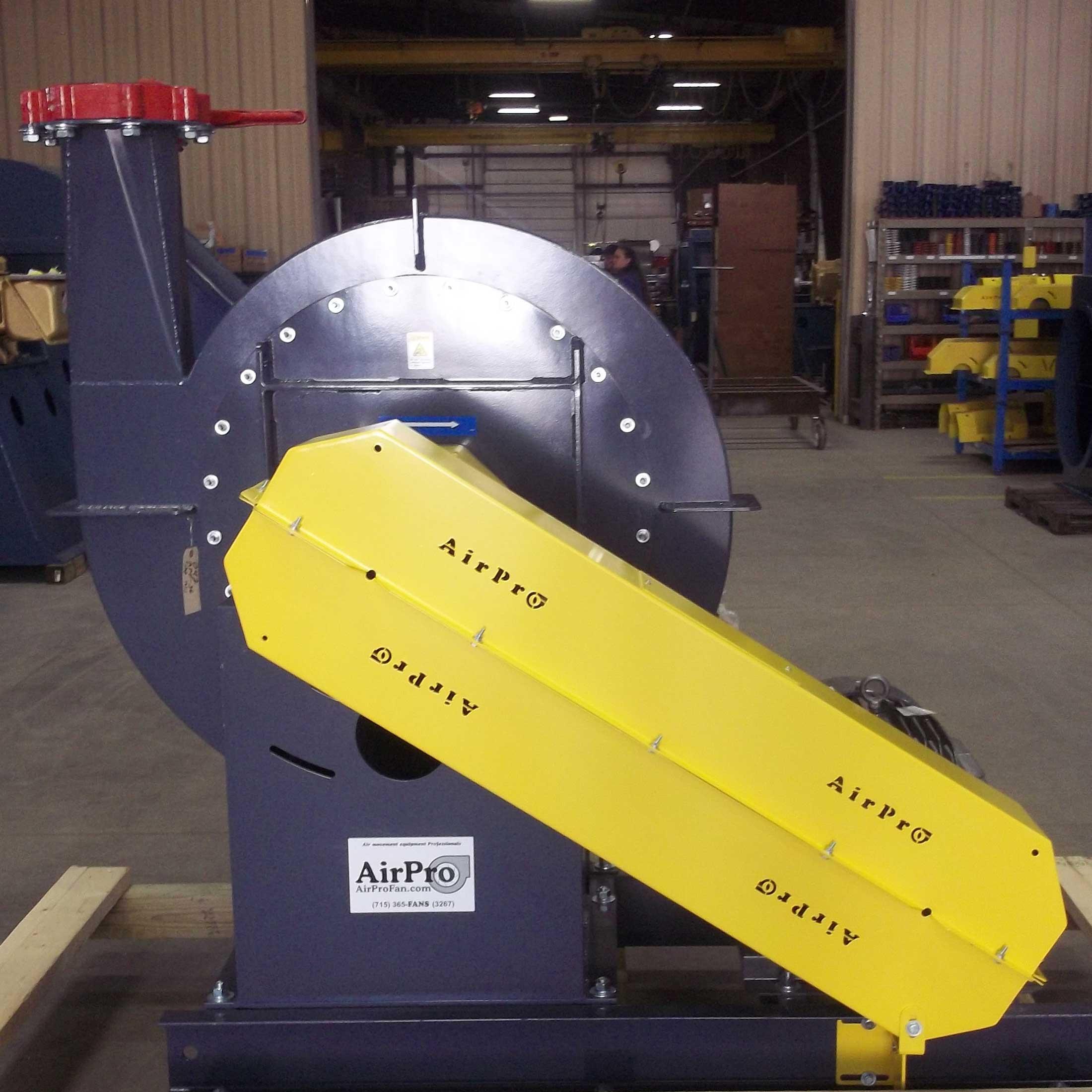 High Pressure Blower Radial Open AirPro Fan & Blower Co. #B39F18