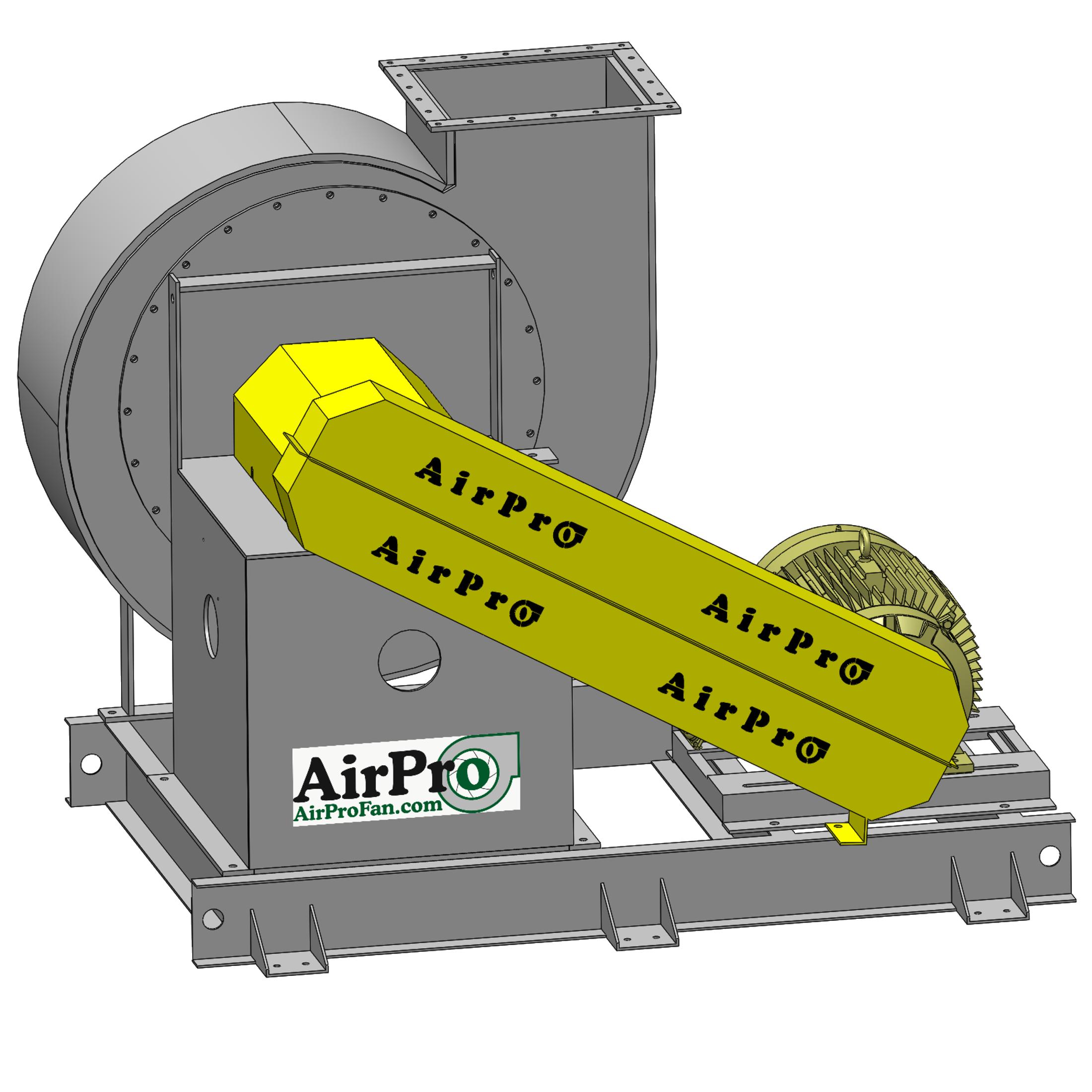 Industrial Exhaust Fan Radial Shrouded AirPro Fan & Blower #CACA00