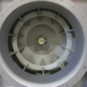 Industrial Fan with Radial Shrouded
