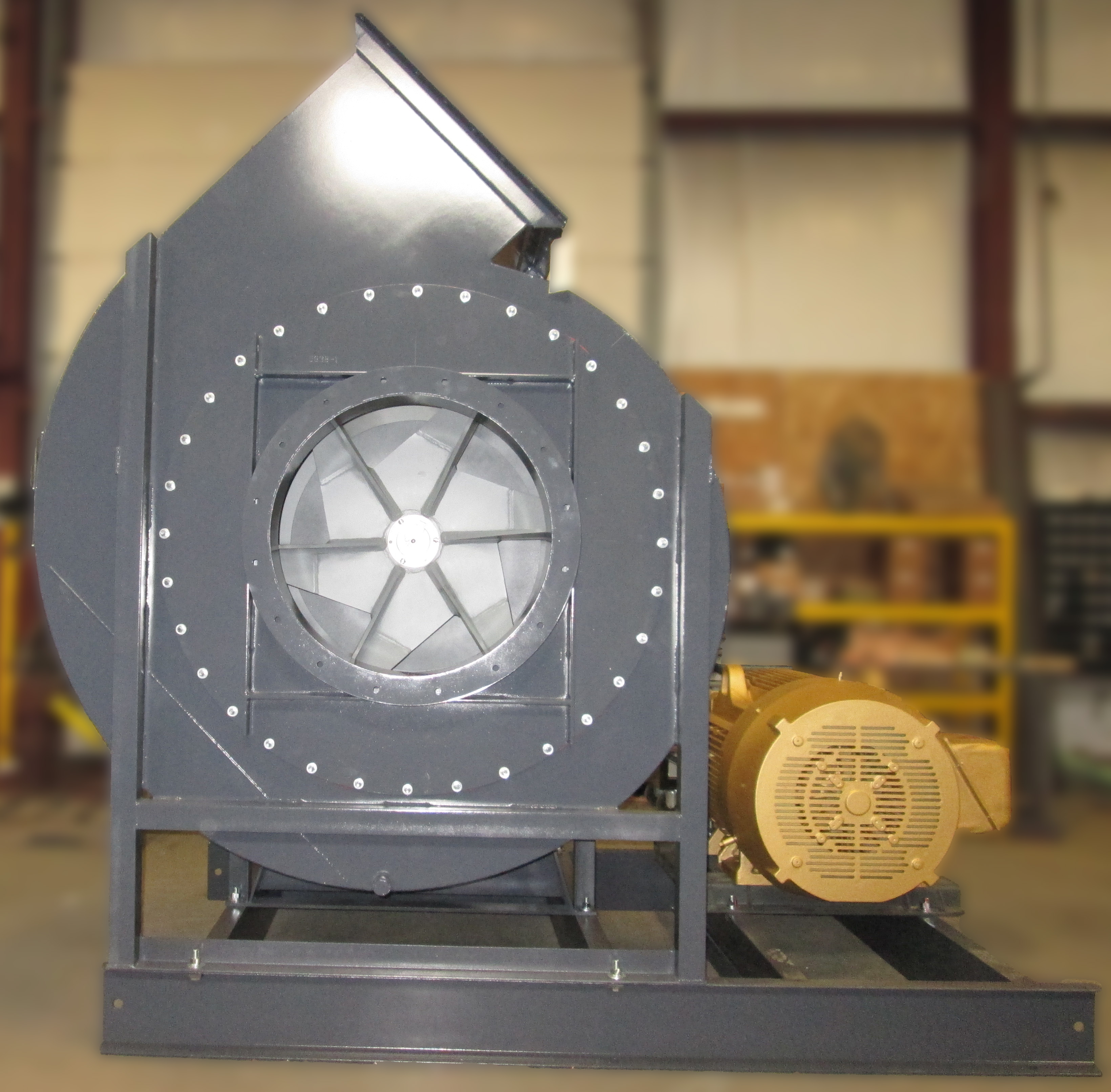 Industrial Blower Wheels : Industrial exhaust fan paddle wheel airpro blower