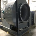 Forced Draft Industrial Fans - Glass Tempering Blowers