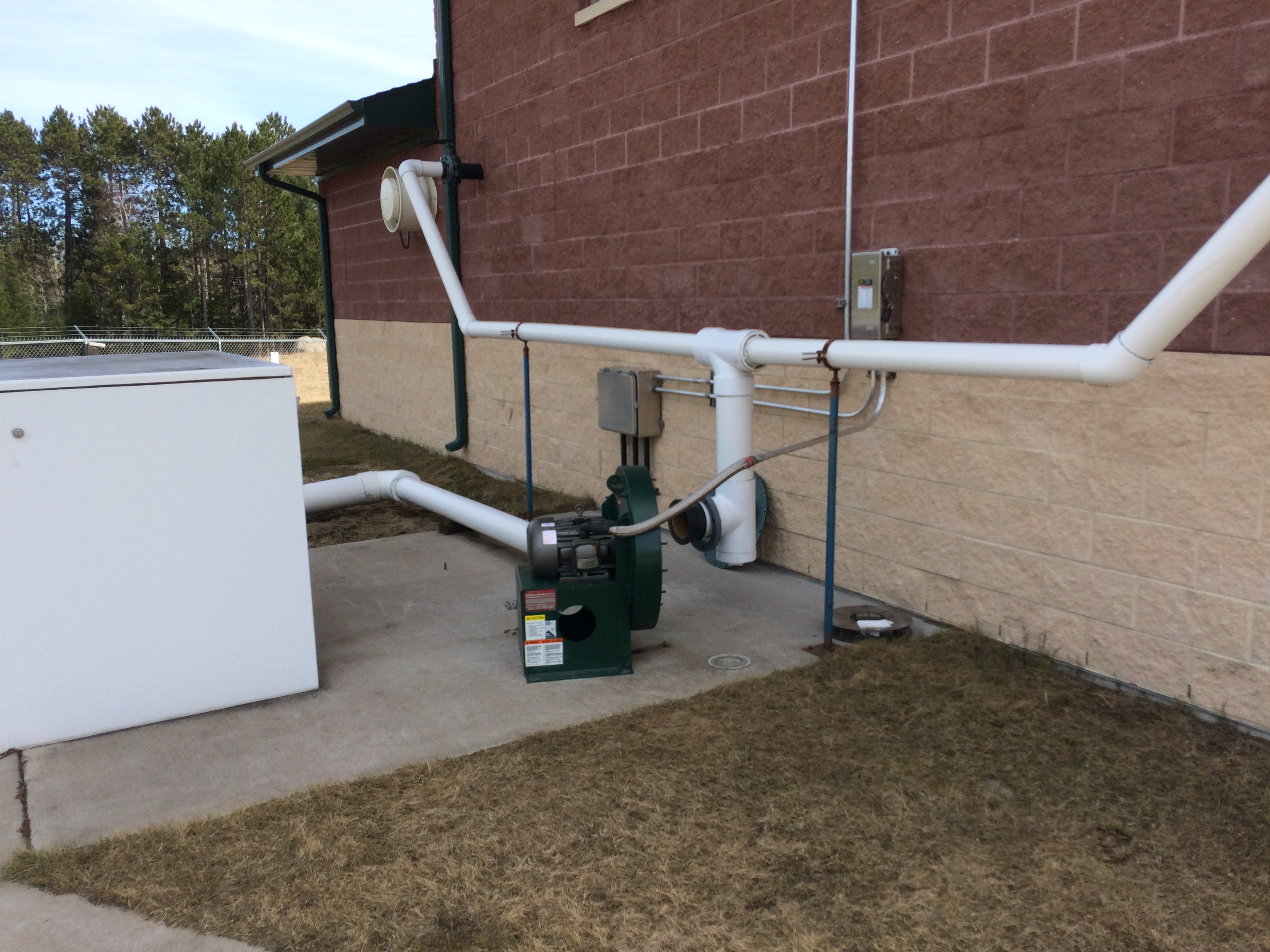 Odor Control Blower System_Waste Water Treatment Plant