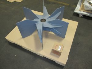 Replacement Paddle Wheel Impeller for Manure Drying