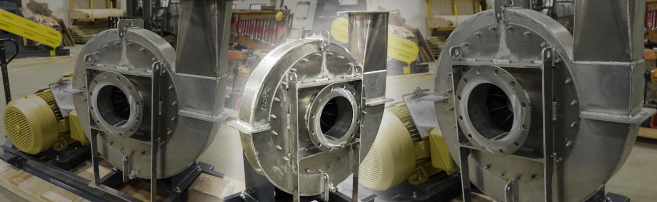 spark resistant fan