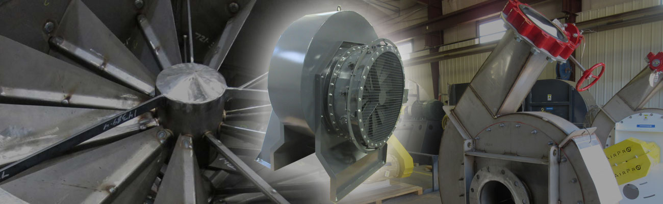 industrial inlet dampers