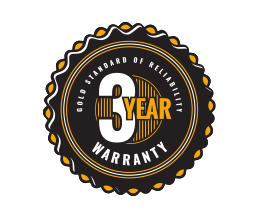 3 year warranty on centrifugal fans and blowers