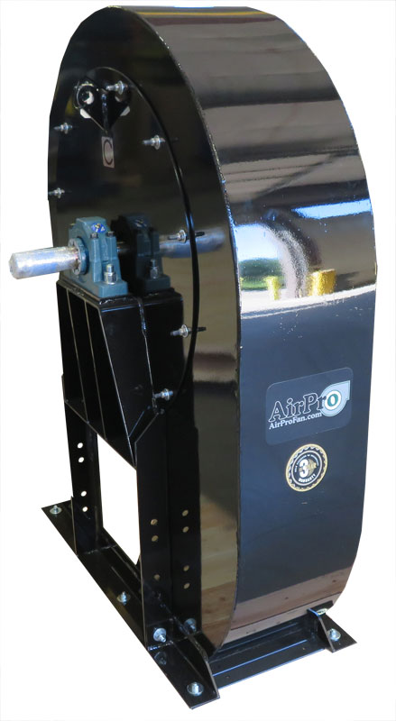 fan for agricultural spraying