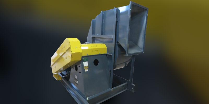 dryer supply fan cement plant